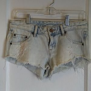 BDG Low Rise Jean Shorts